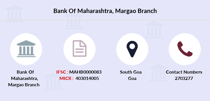 Bank-of-maharashtra Margao branch