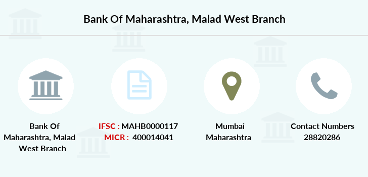 Bank-of-maharashtra Malad-west branch