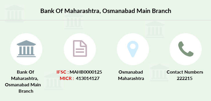 Bank-of-maharashtra Osmanabad-main branch