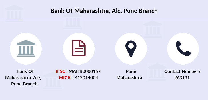 Bank-of-maharashtra Ale-pune branch