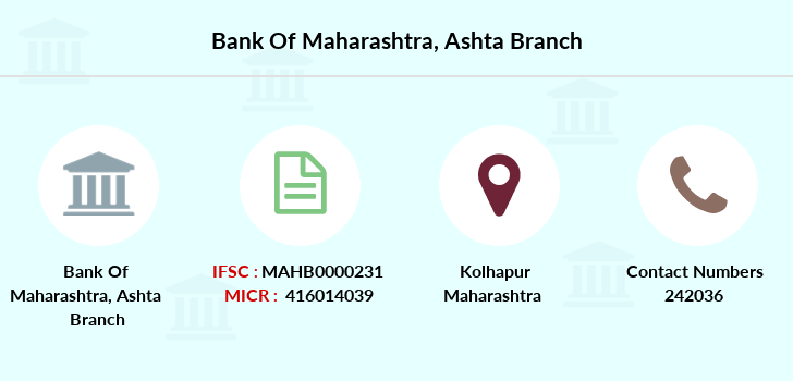 Bank-of-maharashtra Ashta branch