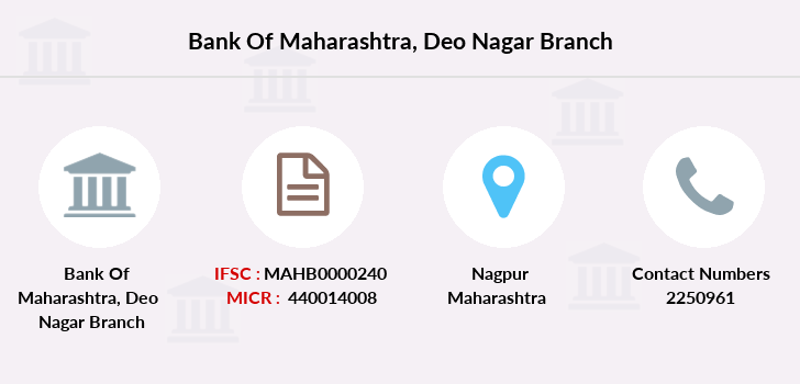 Bank-of-maharashtra Deo-nagar branch