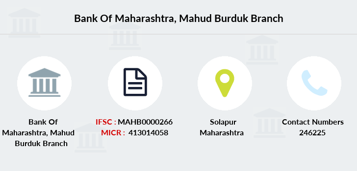 Bank-of-maharashtra Mahud-burduk branch