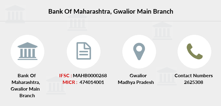 Bank-of-maharashtra Gwalior-main branch