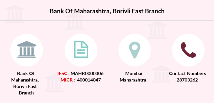 Bank-of-maharashtra Borivli-east branch