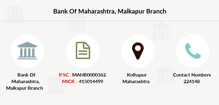 Bank-of-maharashtra Malkapur branch