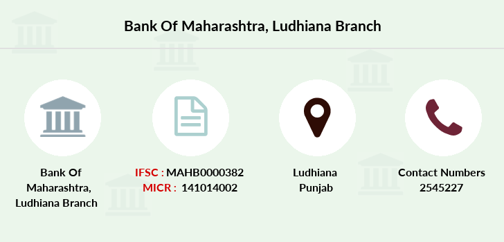 Bank-of-maharashtra Ludhiana branch