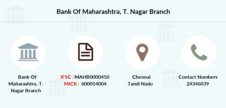 Bank-of-maharashtra T-nagar branch