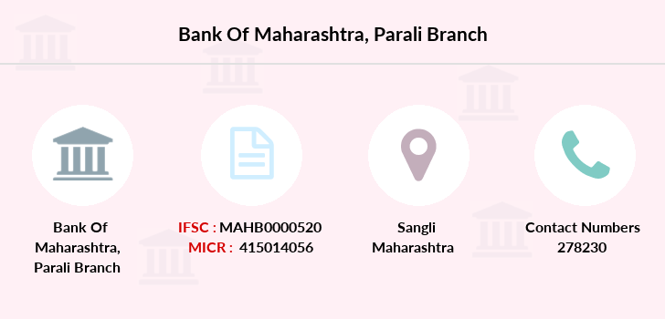 Bank-of-maharashtra Parali branch