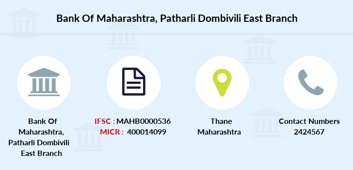 Bank-of-maharashtra Patharli-dombivili-east branch