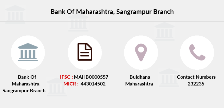 Bank-of-maharashtra Sangrampur branch