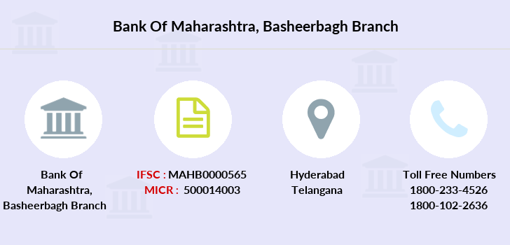 Bank-of-maharashtra Basheerbagh branch