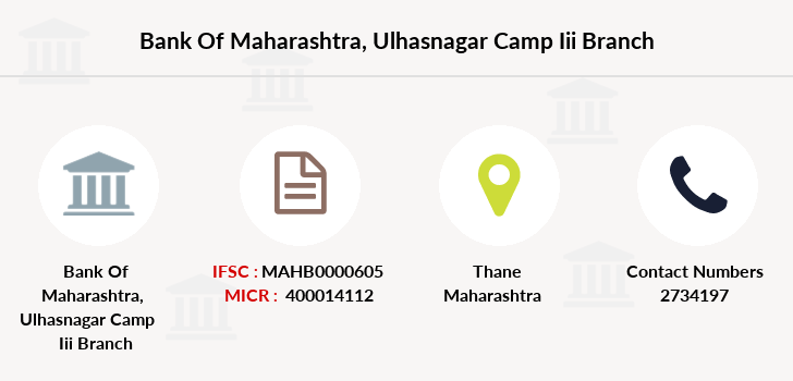 Bank-of-maharashtra Ulhasnagar-camp-iii branch