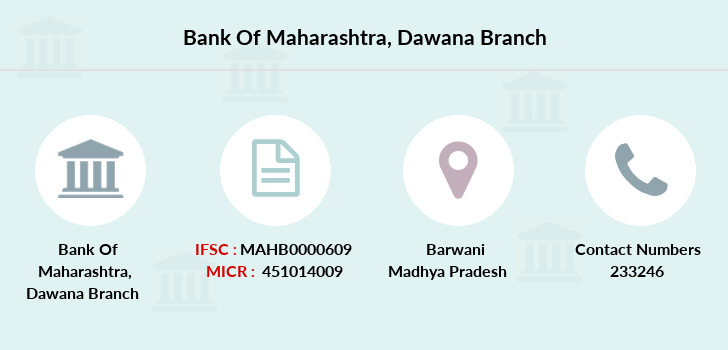 Bank-of-maharashtra Dawana branch