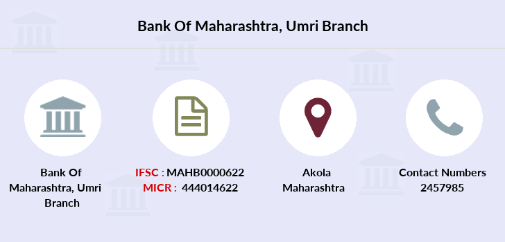 Bank-of-maharashtra Umri branch