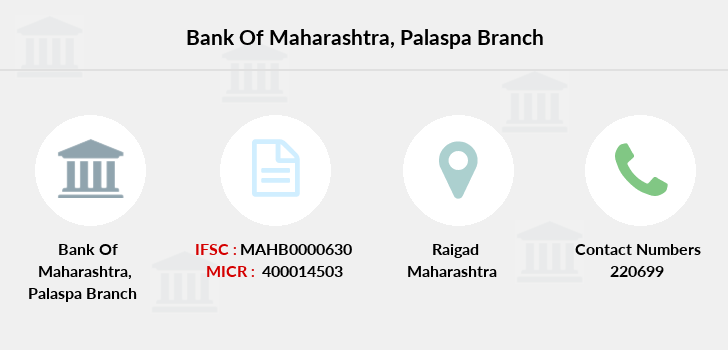 Bank-of-maharashtra Palaspa branch