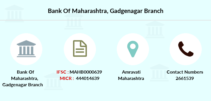 Bank-of-maharashtra Gadgenagar branch