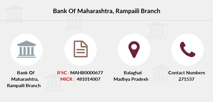 Bank-of-maharashtra Rampaili branch