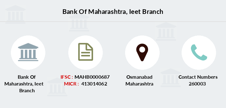 Bank-of-maharashtra Ieet branch