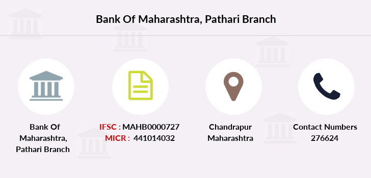Bank-of-maharashtra Pathari branch