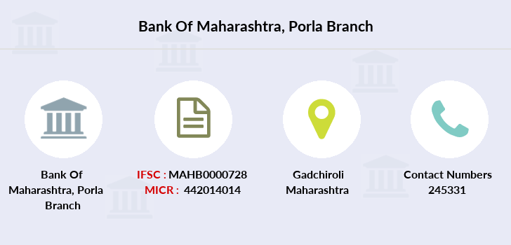 Bank-of-maharashtra Porla branch