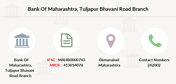 Bank-of-maharashtra Tuljapur-bhavani-road branch