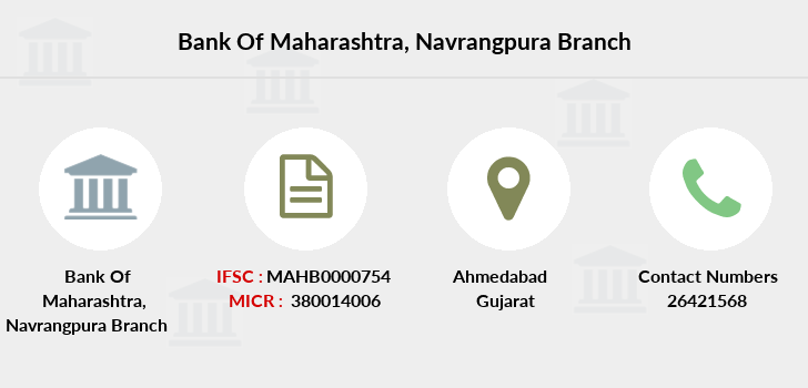 Bank-of-maharashtra Navrangpura branch