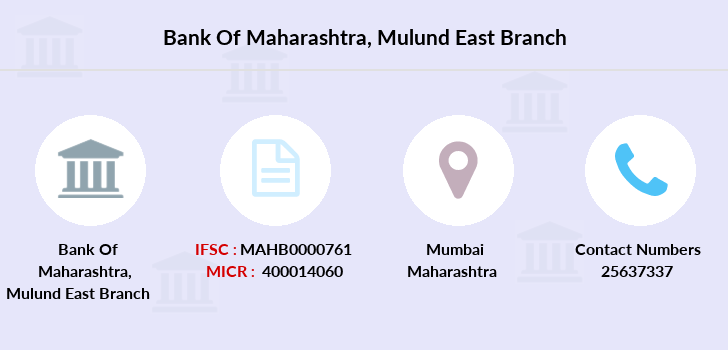 Bank-of-maharashtra Mulund-east branch