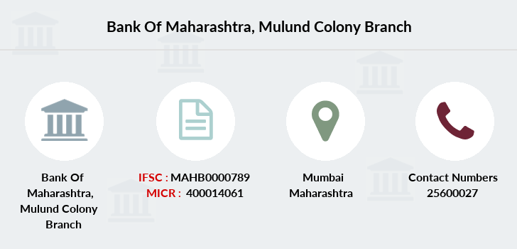 Bank-of-maharashtra Mulund-colony branch
