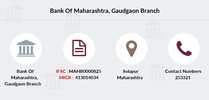 Bank-of-maharashtra Gaudgaon branch