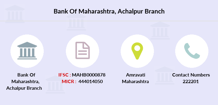 Bank-of-maharashtra Achalpur branch