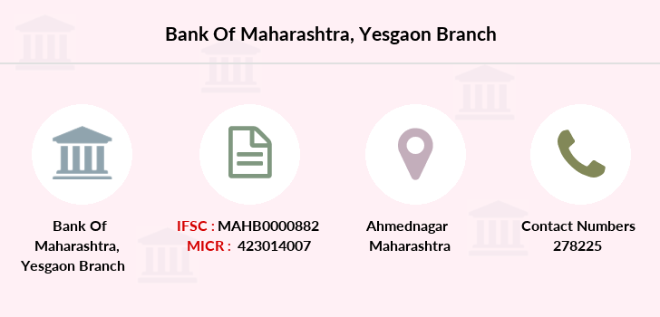 Bank-of-maharashtra Yesgaon branch