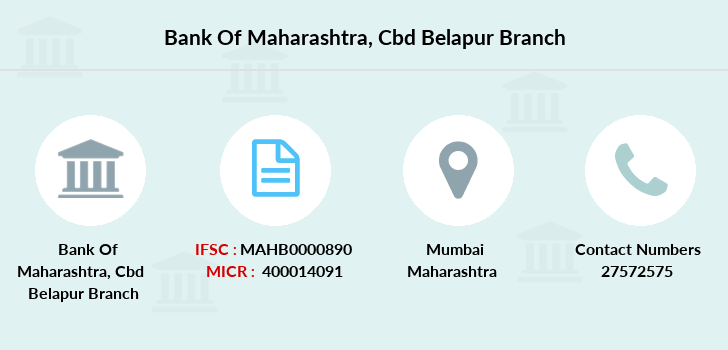 Bank-of-maharashtra Cbd-belapur branch