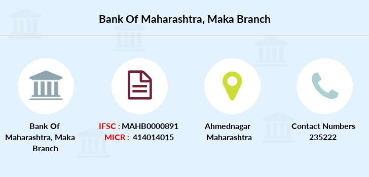 Bank-of-maharashtra Maka branch