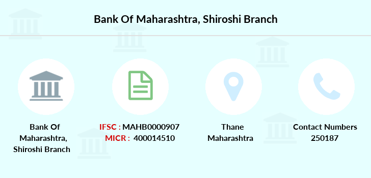 Bank-of-maharashtra Shiroshi branch