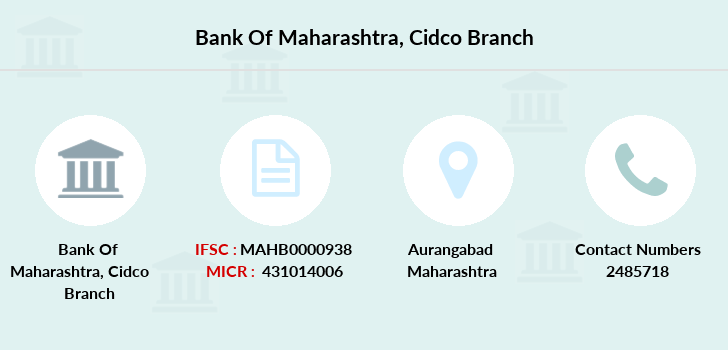 Bank-of-maharashtra Cidco branch