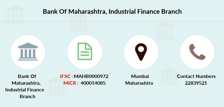 Bank-of-maharashtra Industrial-finance branch