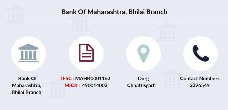 Bank-of-maharashtra Bhilai branch
