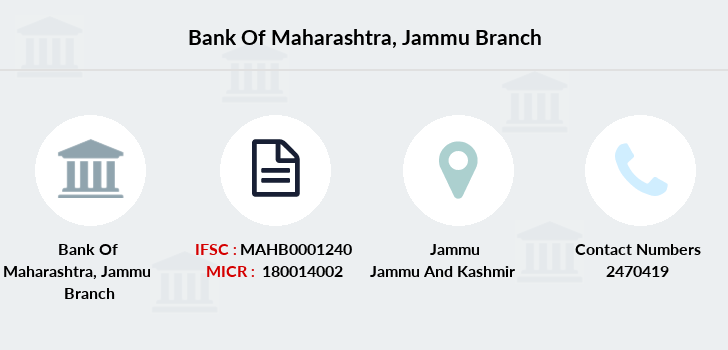 Bank-of-maharashtra Jammu branch
