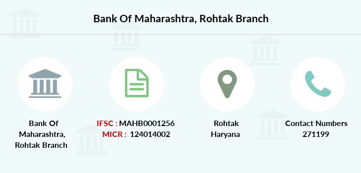 Bank-of-maharashtra Rohtak branch