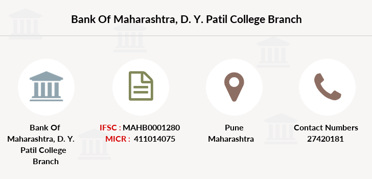 Bank-of-maharashtra D-y-patil-college branch