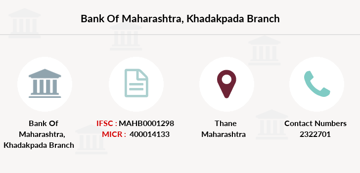Bank-of-maharashtra Khadakpada branch