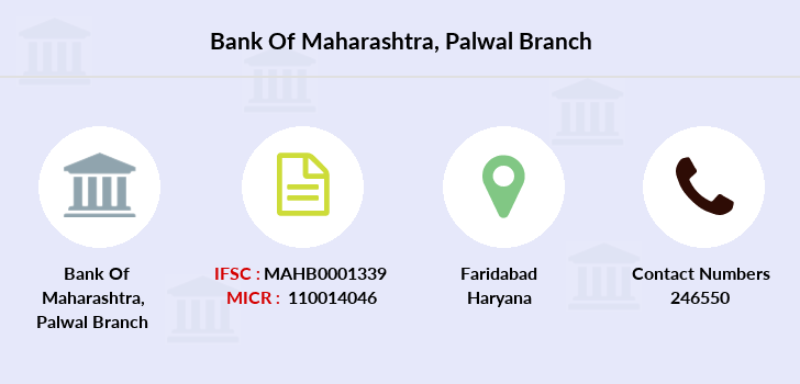 Bank-of-maharashtra Palwal branch