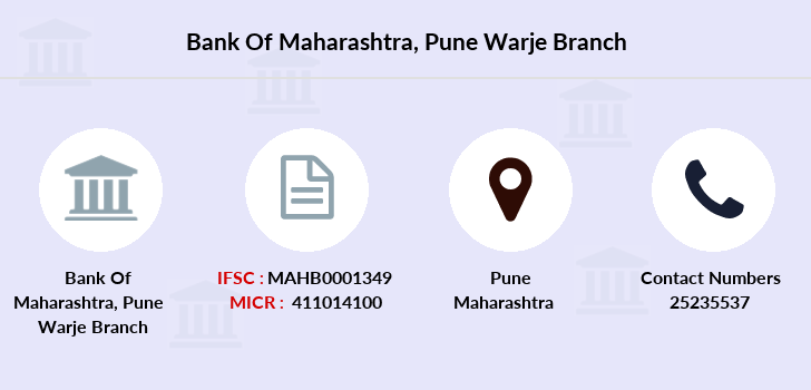 Bank-of-maharashtra Pune-warje branch