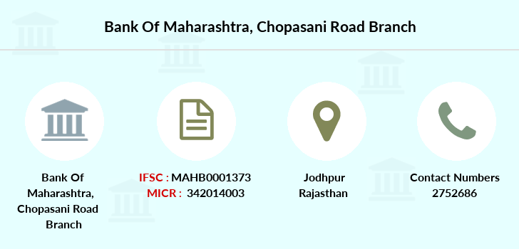 Bank-of-maharashtra Chopasani-road branch