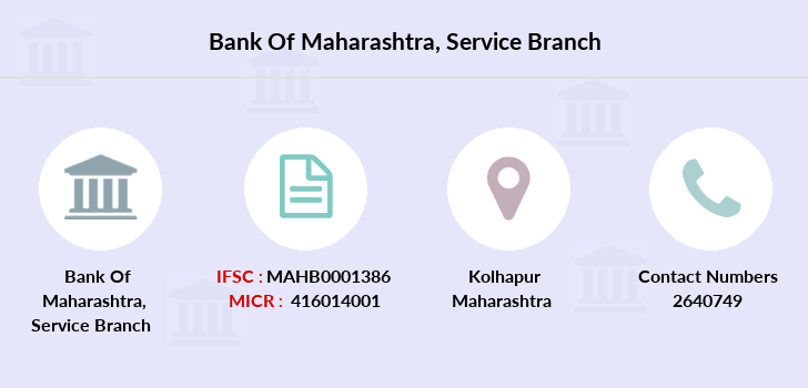 Bank-of-maharashtra Service branch