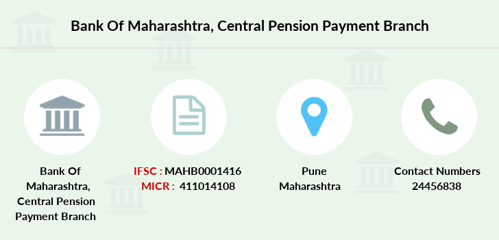 Bank-of-maharashtra Central-pension-payment branch