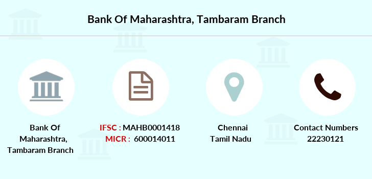 Bank-of-maharashtra Tambaram branch