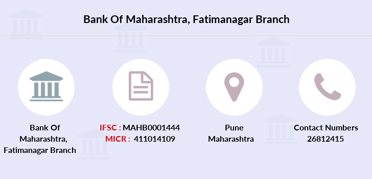 Bank-of-maharashtra Fatimanagar branch