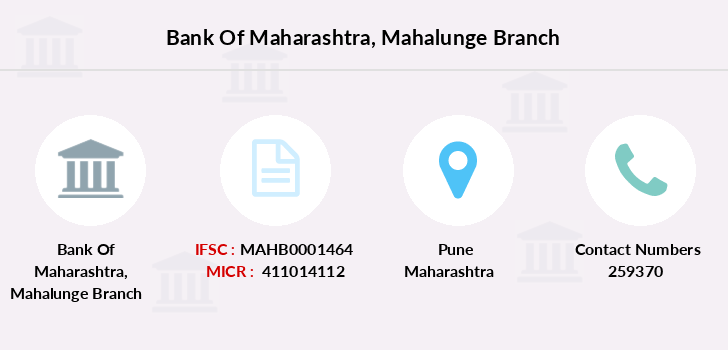 Bank-of-maharashtra Mahalunge branch